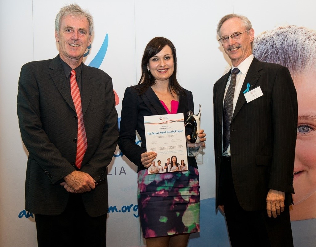 Autism Spectrum Australia National Recognition Award