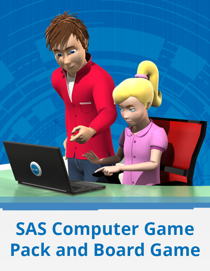SAS Computer Game Pack and Challenger Board Game
