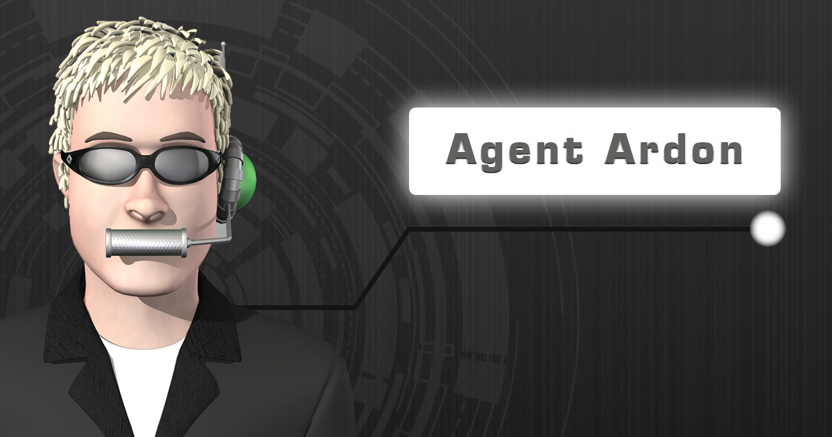 Meet Agent Ardon from the Secret Agent Society
