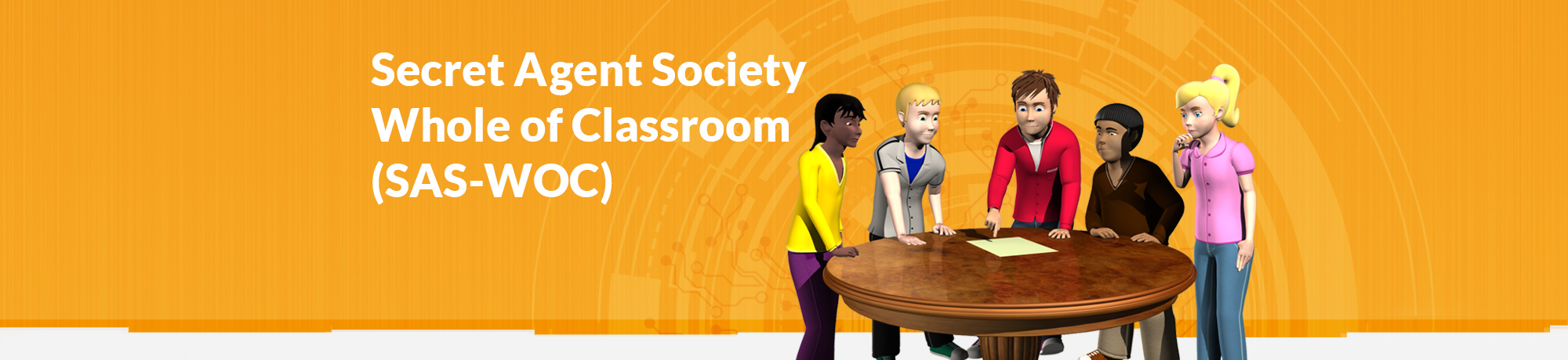Secret Agent Society Whole of Classroom school-based research trial