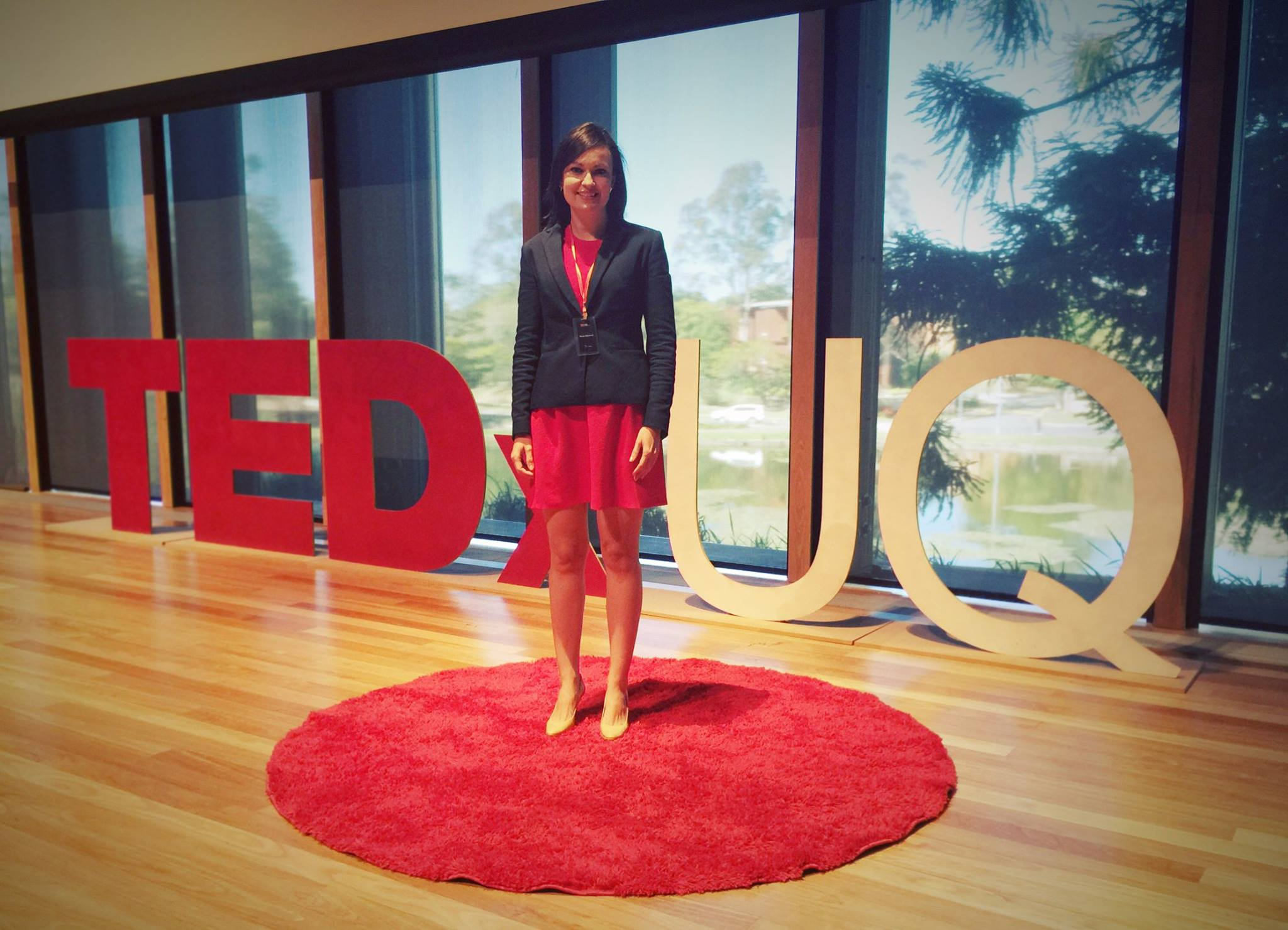 Dr Renae Beaumont at TEDxUQ